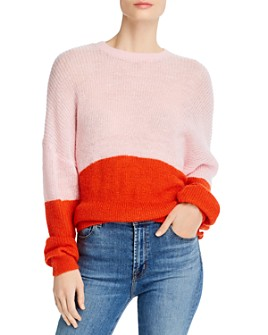 cupcakes and cashmere - Janus Color-Blocked Sweater