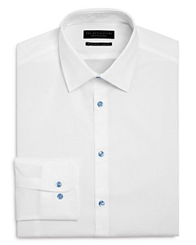 The Men's Store at Bloomingdale's - Solid Stretch Regular Fit Dress Shirt - 100% Exclusive