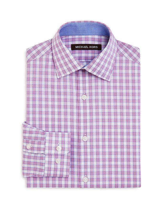 Michael Kors - Boys' Cotton Check Dress Shirt - Big Kid