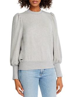 Notes du Nord - Oxford Puff-Sleeve Sweatshirt