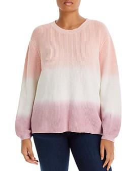 AQUA Curve - Curve Ombré Knit Sweater - 100% Exclusive