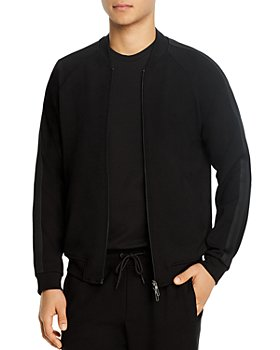 Armani - Jersey Zip-Up Jacket