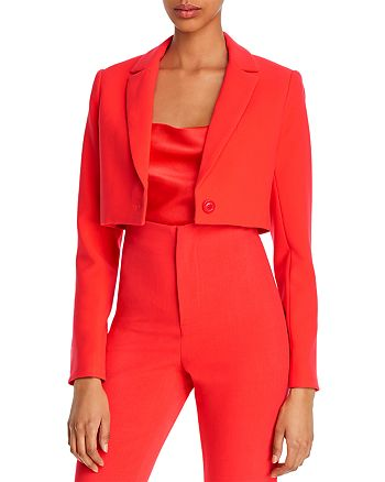 Alice and Olivia - Macey Cropped Blazer
