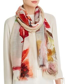 Larioseta - Abstract Floral Scarf