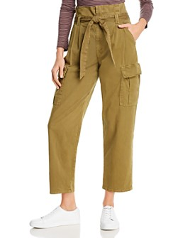 MOTHER - Greaser Paperbag-Waist Cargo Pants