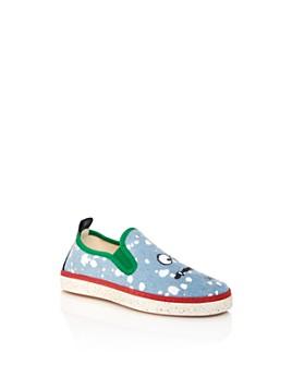 Stella McCartney - Boys' Splash Denim Slip-On Sneakers - Toddler, Little Kid, Big Kid