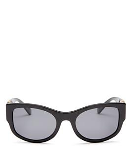 Versace - Women's Polarized Cat Eye Sunglasses, 55mm