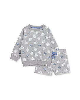 Sovereign Code - Girls' Briella Cotton Daisy-Print Sweatshirt & Kyla Shorts Set - Baby