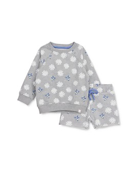Sovereign Code - Girls' Briella Cotton Daisy-Print Sweatshirt & Kyla Shorts Set - Baby