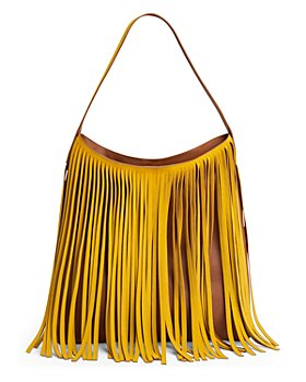 Gerard Darel - Lady Hair Fringed Leather Shoulder Bag