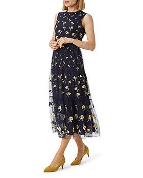 HOBBS LONDON - Bethany Tiered Mesh Dress