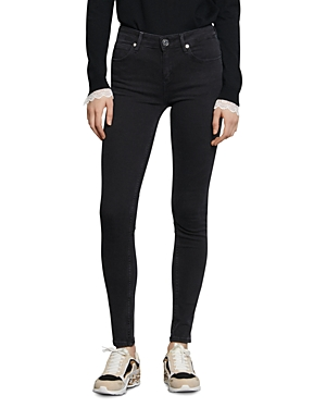 Sandro Pam Mid-Rise Skinny Jeans