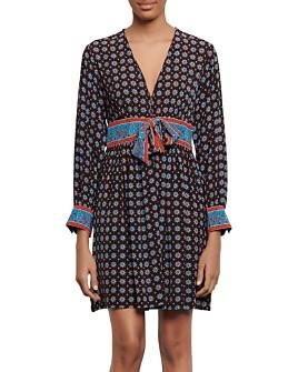 Sandro - Cate Short Printed Dress
