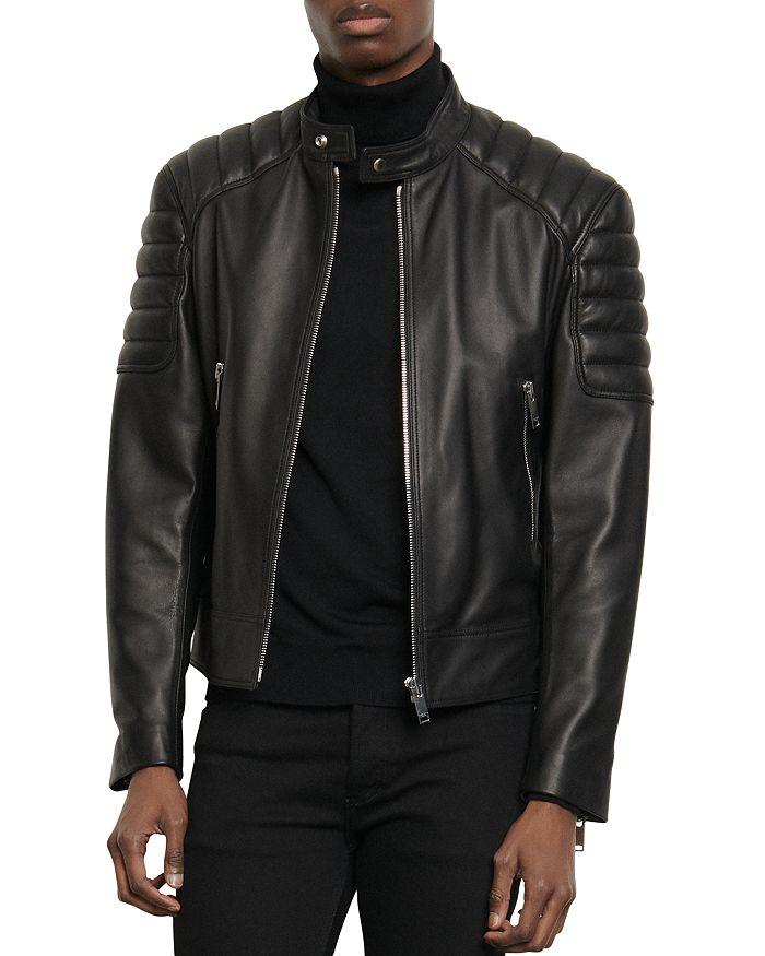 Sandro - Biker Leather Jacket
