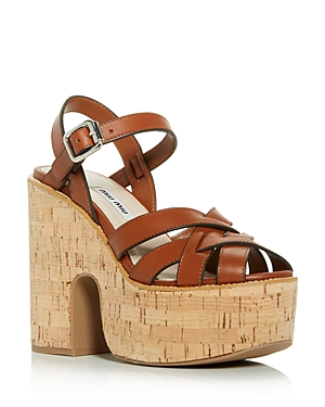 Miu Miu Women's Calzature Donna Platform Sandals