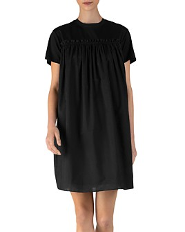 ATM Anthony Thomas Melillo - Cotton Lace-Up Mini Dress
