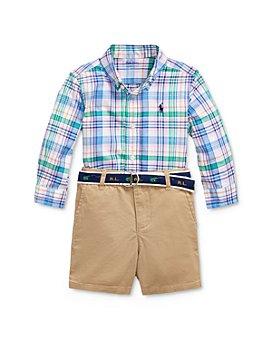 Ralph Lauren - Boys' Shirt, Belt & Shorts Set - Baby