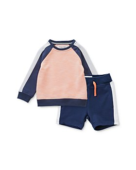 Sovereign Code - Boys' Stan Color-Blocked Sweatshirt & Deliver Color-Blocked Jogger Shorts - Baby