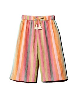 Pink Chicken - Girls' Theodore Cotton Striped Pants - Little Kid