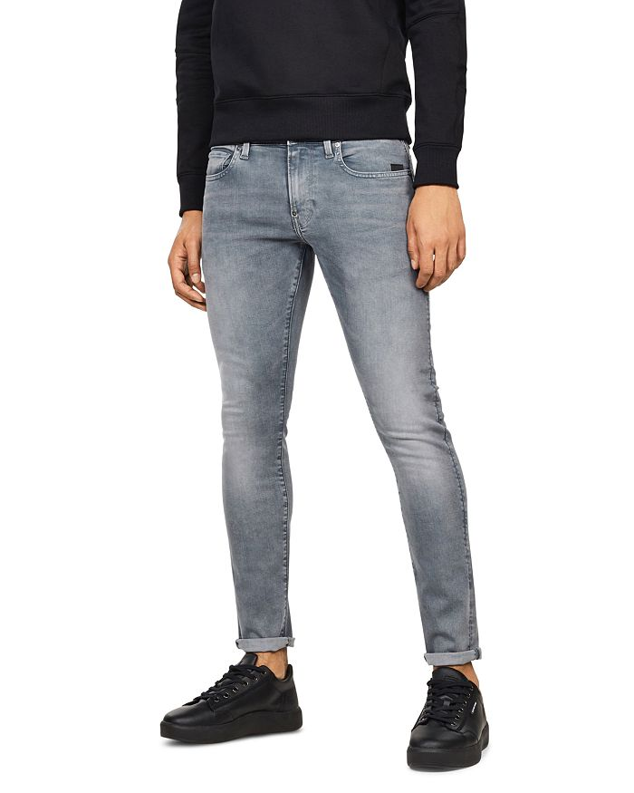 G-STAR RAW - Revend Skinny Fit Jeans in Faded Industrial Gray