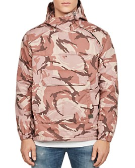G-STAR RAW - Trozack Anorak Camo Regular Fit Jacket