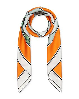 Burberry - Illustrated Monkey Silk Twill Scarf