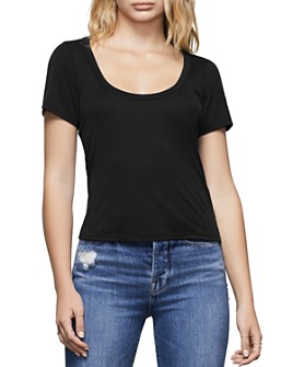 Good American - Scoop-Neck Tee