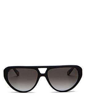 Chloé - Men's Timeless Polarized Aviator Sunglasses, 58mm