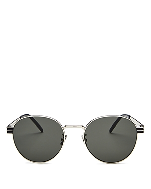 Saint Laurent Men\\\'s Round Sunglasses, 55mm-Jewelry & Accessories