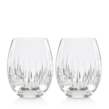 Reed & Barton - Soho Stemless Wine Glasses, Set of 2