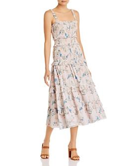 Saylor - Althea Floral-Print Tiered Dress