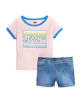 Levi's - Girls' Tee & Shorts Set - Little Kid