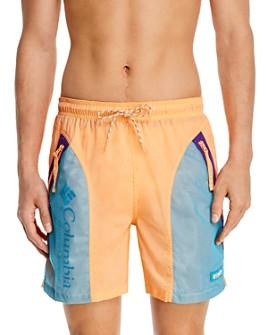 Columbia - Riptide Nylon Color-Blocked Regular Fit Shorts
