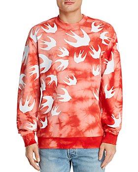 McQ Alexander McQueen - Cotton Tie-Dyed Swallow Graphic Sweatshirt