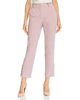 Rebecca Taylor - Plaid-Printed Pants