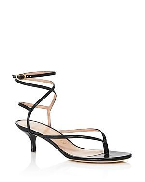 Stuart Weitzman Women\\\'s Jimena 50 Kitten-Heel Strappy Sandals