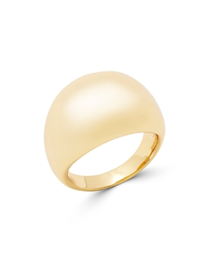 Gorjana Farrah 18K Gold-Plated Dome Statement Ring