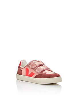 VEJA - Girls' Velcro Low-Top Sneakers - Toddler, Little Kid
