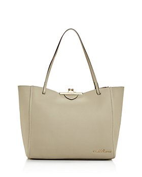 MARC JACOBS - The Kisslock Leather Tote