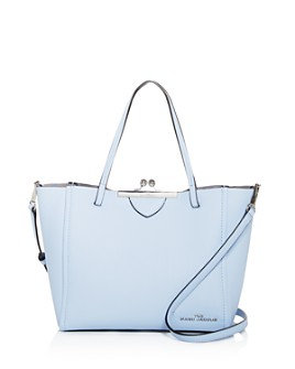 MARC JACOBS - The Kiss Lock Mini Leather Tote
