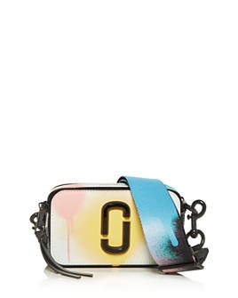 MARC JACOBS - The Snapshot Painted Saffiano Leather Camera Bag