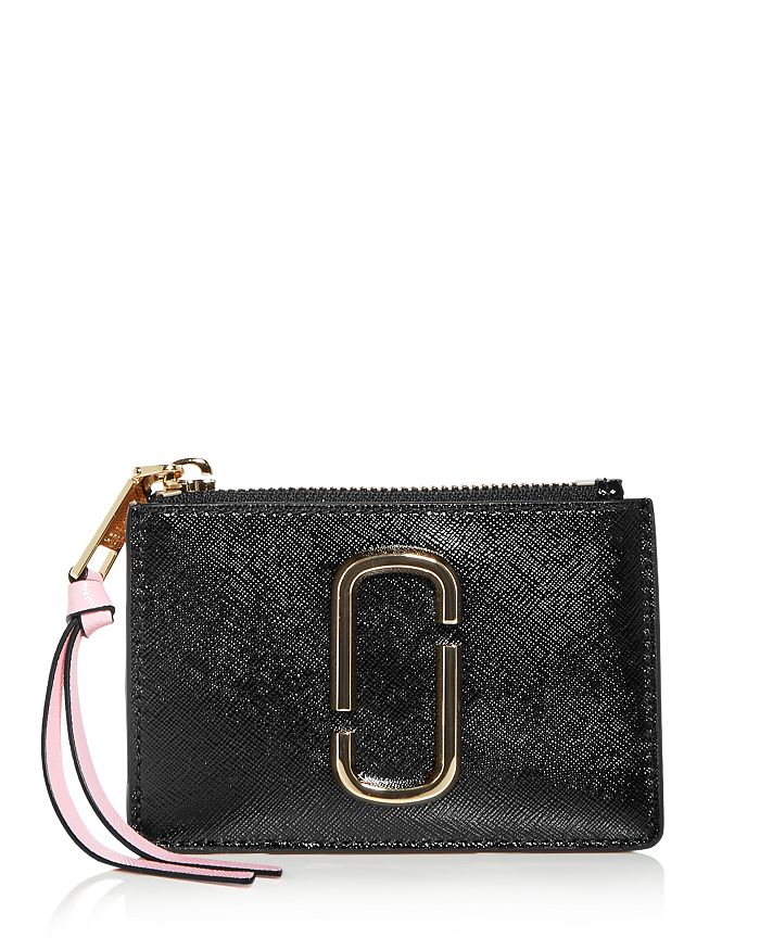 MARC JACOBS - Leather Zip Multi-Card Case