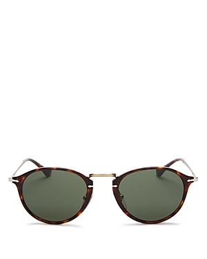 Persol Unisex Round Sunglasses, 49mm