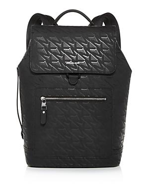 Michael Kors Hudson Flap Backpack