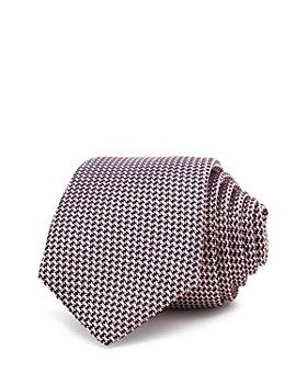Theory - Roadster Amble Textured Silk Skinny Tie