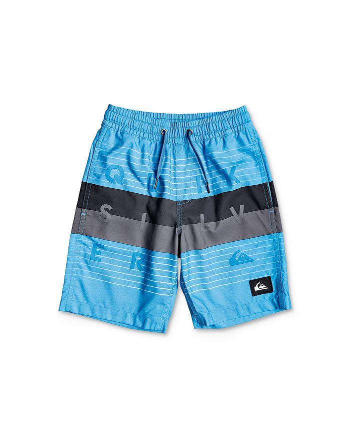 Quiksilver - Boys' Volley Color-Blocked Swim Trunks - Little Kid, Big Kid