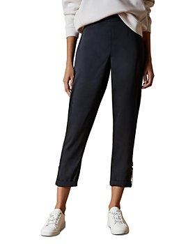 Ted Baker - Ilaria Roll-Tab Cropped Jogger Pants