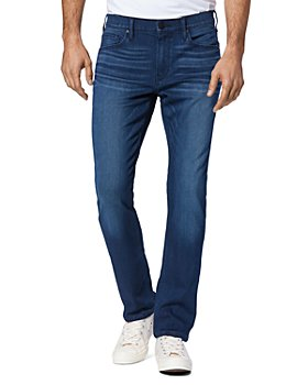 PAIGE - Federal Straight Slim Fit Jeans in Massey
