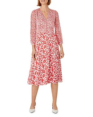 Rosie Floral Print Midi Dress