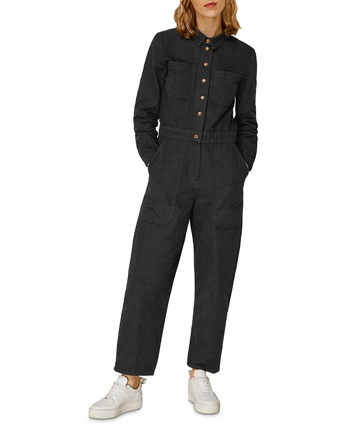 Whistles - Gabby Denim Cotton Jumpsuit